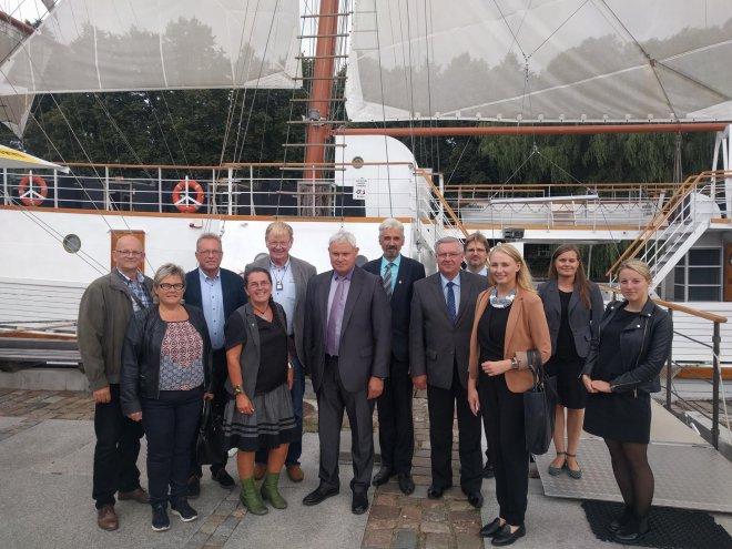 ERB vizitas Klaipėdoje