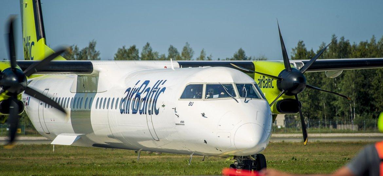 airBaltic žiemą vykdys du kasdienius skrydžius į Palangą